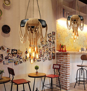 Tire rope party bar indoor hanging decoration fancy chandelier tire rope party bar indoor hanging decoration fancy chandelier pendant light aloadofball Images