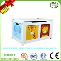 2017 Children Kids Storage Wooden Toy Boxes