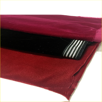 4 way stretch flocked velvet fabric soft velvet fabric for dress