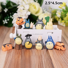 <span class=keywords><strong>Giappone</strong></span> Cute Cartoon Il Mio Vicino Totoro Anime Piccolo PVC Figure 10 pz/set