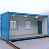 Environmental Friendly prefab container house for restaurant