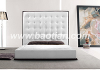 Baotian Furniture Hot sale leather bed frame/headboard for bed room