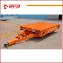 Semi dolly tow trailer for cars