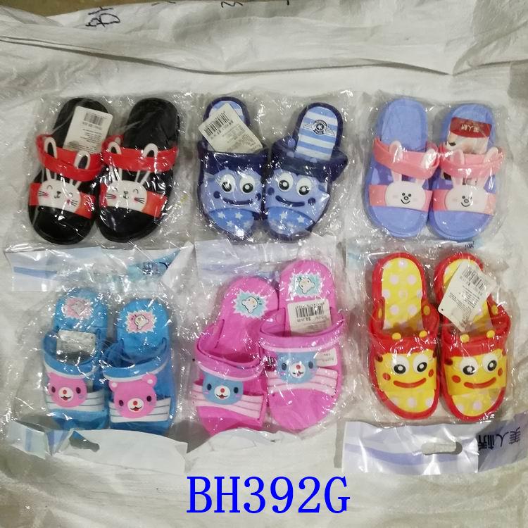 stock lot shoes kids slide slippers child sandal