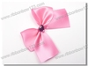 Wholesale pre-tied pink ribbon bows
