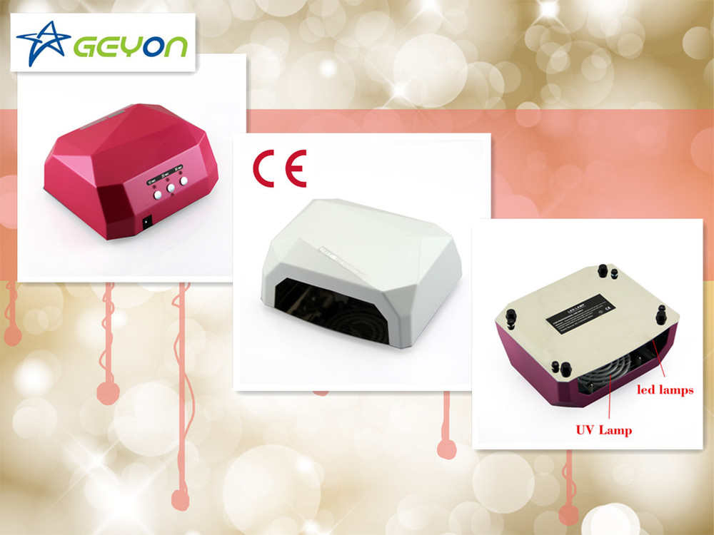 36w led gel nail lamp diamond led+ccfl prego lampada led uv light