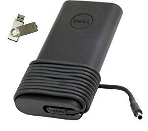 "Bundle:2 items - Adapter&Power Cord/ Free USB Drive; Dell 130W New Design Slim AC Adapter""PowerSupply""for Dell Precision M3800 & Dell XPS 15 (9530), 100% Compatible with P/N: TX73F, 332-1829, HA130PM130, DA130PM130, 06TTY6, 6TTY6, ADP-130EB BA"