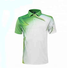 Polyester <span class=keywords><strong>polo</strong></span> shirts gesublimeerd droge fit sport running poloshirt
