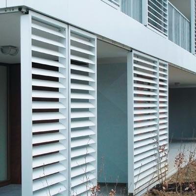 Louver Vents Window Kitchen Air Vent Aluminum Fixed Window