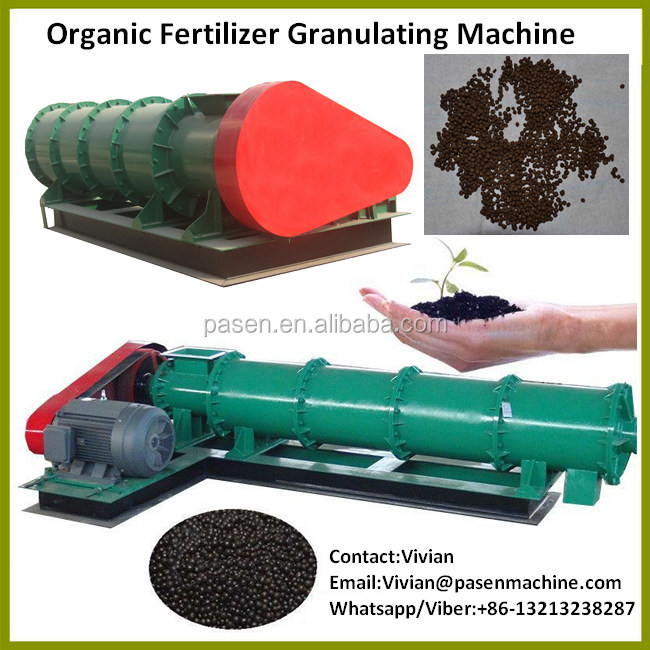Fertilizer Granulation Plant for Recycling Animal Waste