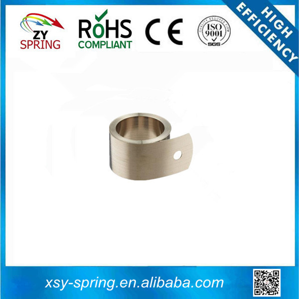 many coils polished flat coil spring for clock