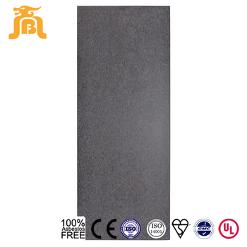 Commercial Buildings Grey Colored  Waterproof Fiber Cement Facade Panel