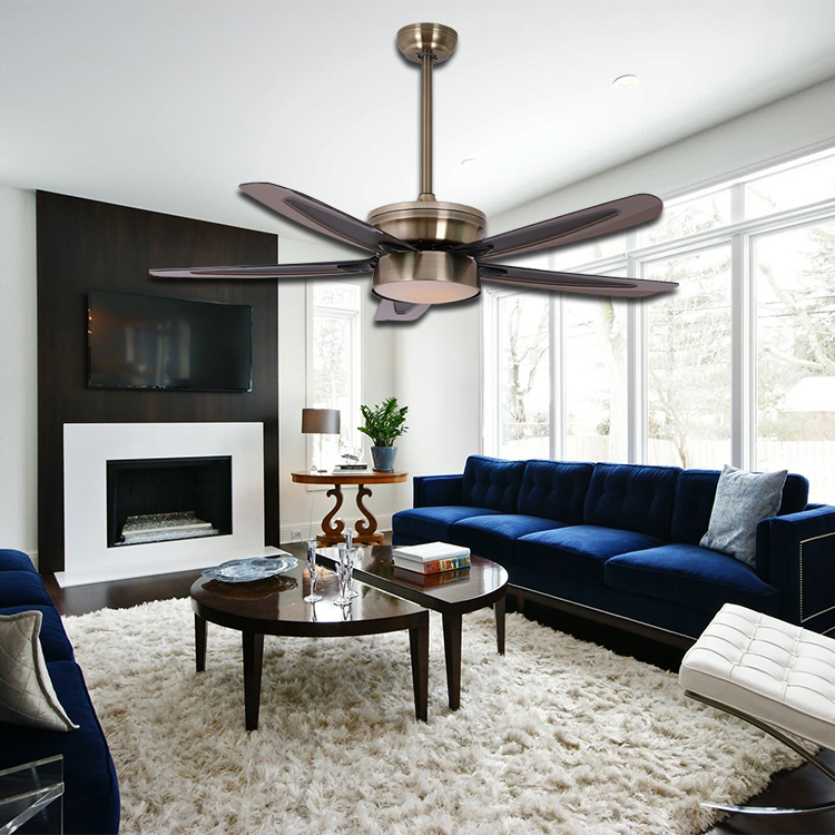 Zhongshan manufacture popular unique ceiling fans with lights