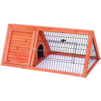 FSC triangle Rabbit and Chicken Hutches with BSCI in factory for wholesale