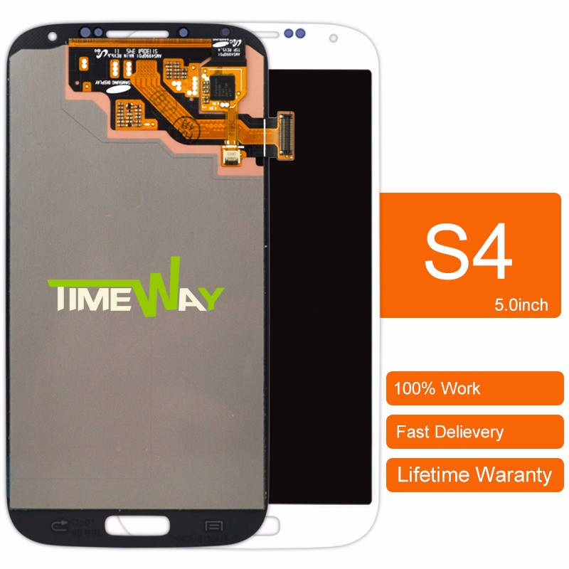 2017 Timeway replacement lcd for samsung s4 lcd screen, for Samsung s4 i9505 lcd digitizer mobile phones displays