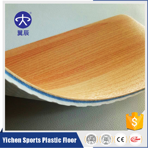 Gym aerobic exercise area maple wood pvc flooring USA