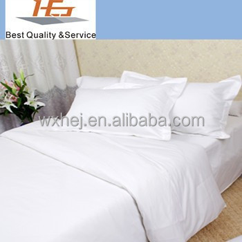 Top Quality Single Twin Flat Sheets White Bed Sheets Sale
