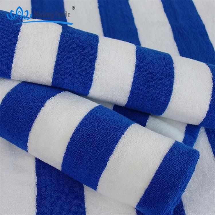Stripe Beach Towel Whole Blue White