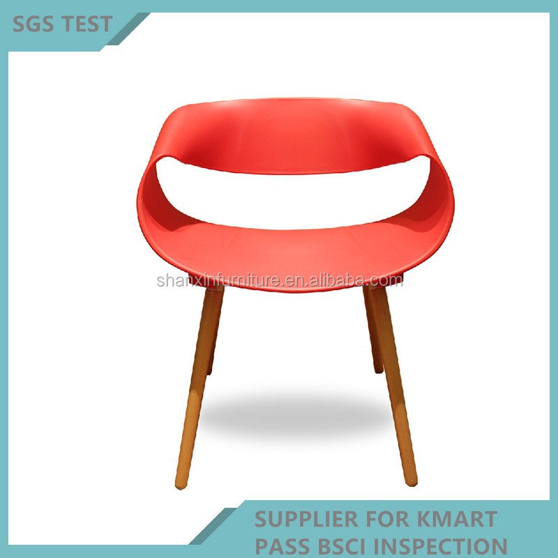 Bon Ronde Chaise En Plastique à Manger Chaise Utilisé Meubles