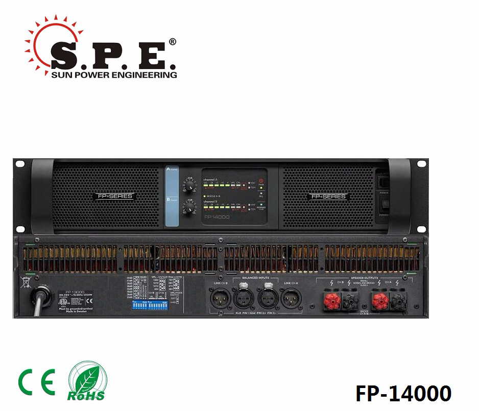 spe audio class D power amplifier lab gruppen FP 14000