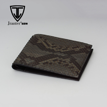 Beste Portemonnee Heren.Jranter Luxe Python Snakeskin Beste Heren Portemonnee Case Merken