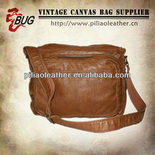 solid PU shoulder messenger bag men bag2013