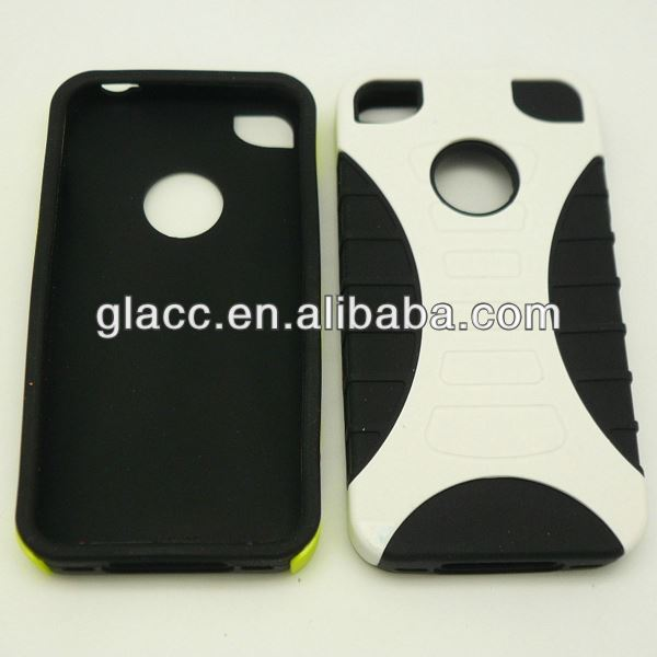 2013 New arrive fit for Apple Iphone 4g/4gs, phone case cover for iphone 4g black bumper case with metal buttons