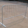 Customized design galvanized used crowd control barriers fence
