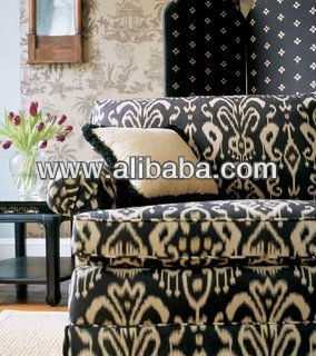 Ikat Fabric Uphostery Home Furnishing Sofa Curtain Cloth Excellent Designs Ethnic Tapestry Dry Cotton Product On