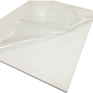 2mm pvc hard foam rigid board sheet with pe film for kitchen cabinets
