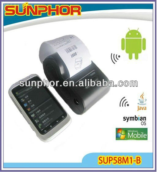 58mm Bluetooth Mobile Printer for Android, Symbian,Java,Window mobile,WindowsCE