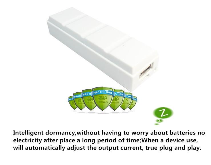 Mini Chocolate Power Bank 2600mah Backup External Battery Power ...