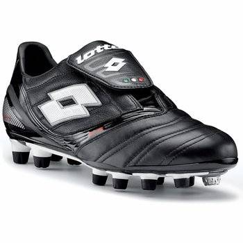 afa26cf1383 Get Quotations · Lotto Vento Diablo KL Due FG Men s Kangaroo Leather Soccer  Cleats Black  White