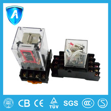 Socket mounting electrical relay good quality