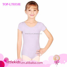 Basic Classical Gymnastics Leotards Short Sleeve Girls Training Clothes In Leotards Pics
