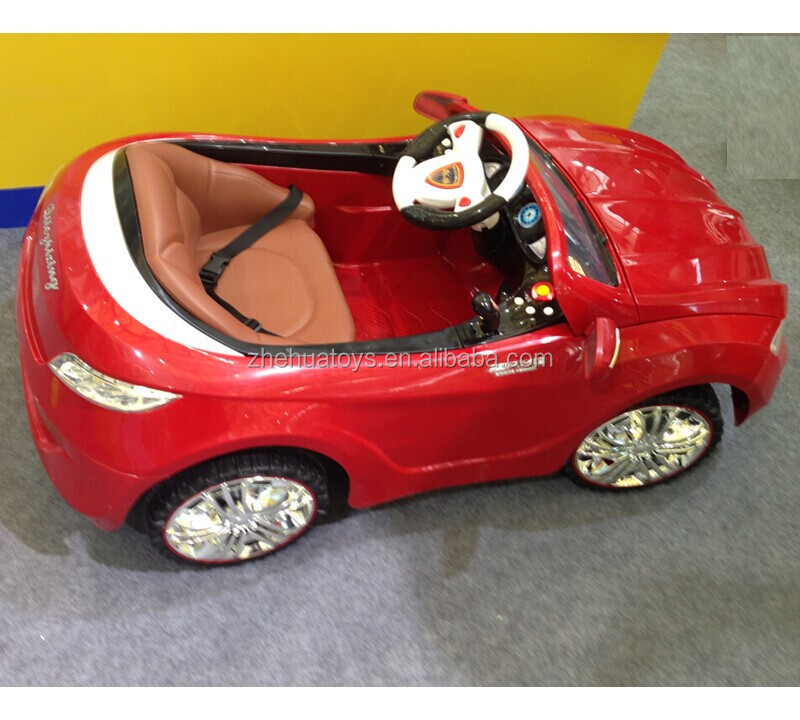 2015 newest kids plastic outdoor carautomatic baby car toy