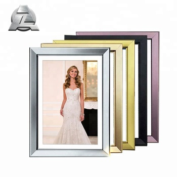 Custom Wall Mounted Bright Colored Metal Aluminium Picture Frames