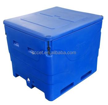 Sb1 b1000 extra large cooler live fish transport tanks for Fish tank cooler