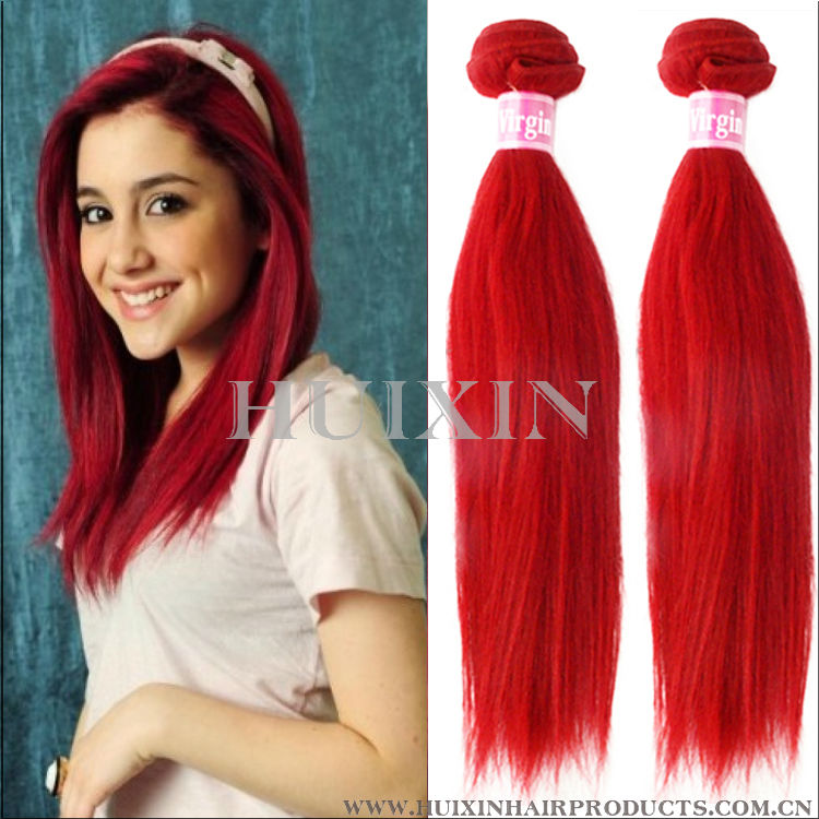 Red Indian Remy Hair Weavered Wine Hair Color Buy Red Remy Hair