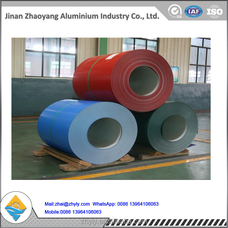 Polyester Color Coated Aluminum Coil for Beverage Cans / Painting Aluminum