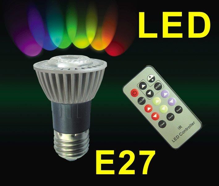 Lovely 5w Rgb E27 Par16 Led Lamps E27 Rgb Led With Ir Remote Control   Buy 5w E27  Rgb Led Lamps With Remote Control Product On Alibaba.com Awesome Ideas