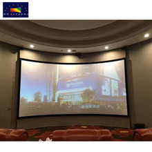 XYSCREEN 150 inch home theater curved projection screen/curved led projector tv screen