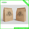 food grade kraft paper bags resealable,brown kraft paper coffee bags