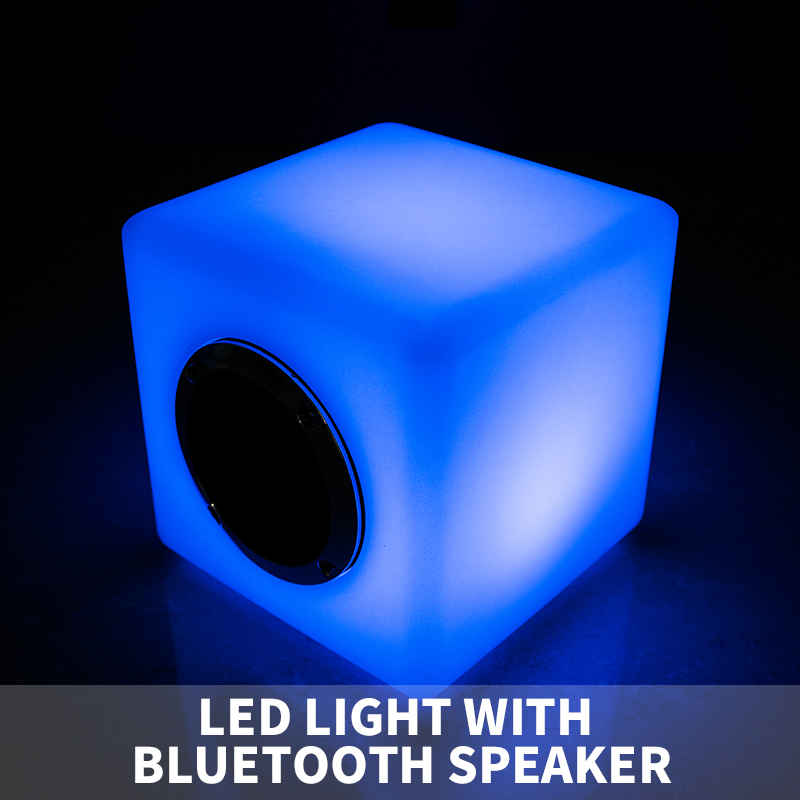Colorful led bluetooth speakertouch sensor with night light color changable smart bluetooth speaker
