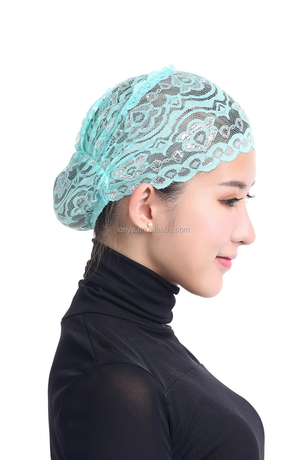 High quality scarf most beautiful inner hijab head caps
