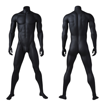 lifelike big muscle sports male man fitness mannequin for sale