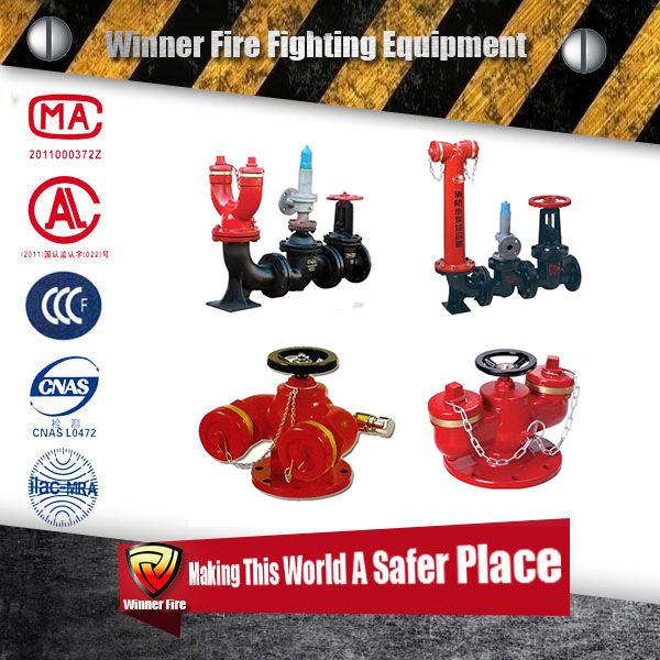 wholesale rotary type 50 mm fire hydrant for indoor use