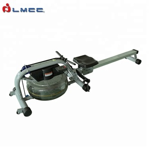 LMCC5900A OEM Indoor Gym Fitness Equipment Aluminium Alloy Water Rower Rowing Machine With Monitor
