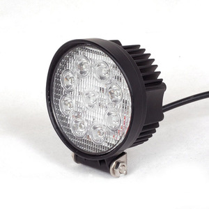 Led Work Light YC006 YC007 18W 24W 27W 48W 4*4 inch Waterproof LED Offroad Light
