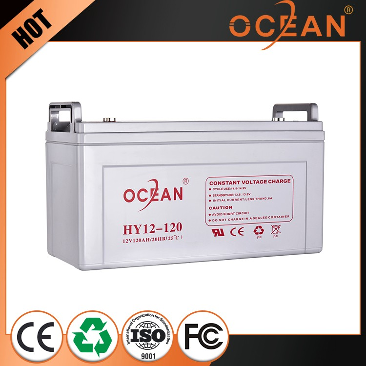 Electric 12V various styles excellent quality 120ah deep cycle gel battery